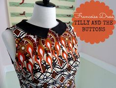 Francoise Dress - Tilly and the Buttons  #SewingFrancoise