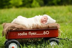 Newborn photography and infant portraits | Baby announcement ideas |  ©Delaney Dobson Photography