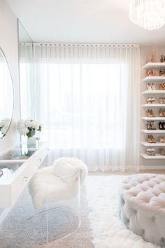 Custom Closet Room by LA Closet Design – Trend Home Dressing Room Decor, Dressing Room Closet, Dressing Room Design, Dream Closets, Dream Rooms, Big Closets, Deco Cool, Closet Vanity, Luxury Closet