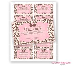 82 Best Pink Leopard Print Baby Shower Images Animal Patterns
