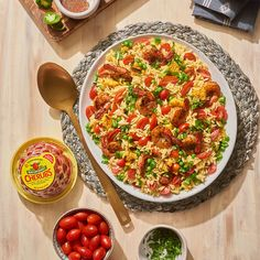 Make this hearty summer salad in advance for a burst of heavenly flavor later. Quick Healthy Meals, Healthy Options, Healthy Recipes, Orzo Salad, How To Cook Shrimp, Stuffed Sweet Peppers, Summer Salads, Entrees