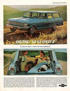 Collectibles American Energetic Original Vintage 1963 Chevy Ii Sales Brochure Chevrolet Advertising Car Auto