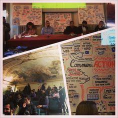 Alcuni scatti da #CommuniAction iniziativa con Aron Pilhofer, Interactive News Director del New York Times, organizzata da #PlacEvent in Aula dei Poeti (Dipartimento di Scienze Politiche)