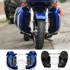 255.55$  Watch here - http://ali0yf.worldwells.pw/go.php?t=32789973921 - AdvanBlack Superior Blue Vented Fairings Fit Harley Davidson Street Electra Glide Road King FLHR 1986-2016 255.55$