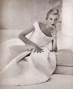 "theniftyfifties: "" Model Sunny Harnett, 1951 """