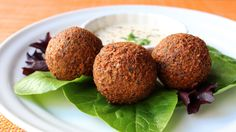 How to Make Falafel - Crispy Fried Garbanzo Bean/Chickpea Fritter Recipe - YouTube