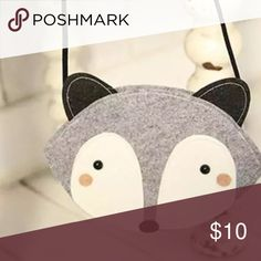 HP❣ Foxy Mini Bag Cute little bag with a fox face featured on the front. New without tags. Host Pick : Total Trendsetter Party - 9/17/16 Bags Mini Bags
