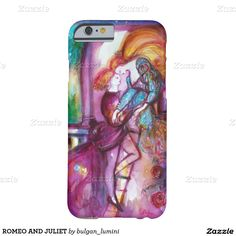 ROMEO AND JULIET BARELY THERE iPhone 6 CASE  Painting by Bulgan Lumini (c)