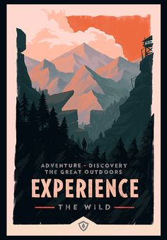 Olly Moss Campo Santo Firewatch Poster