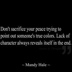 Amen to this!! Mandy Hale