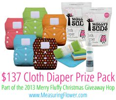 Win a $137 Thirsties and Molly's Suds Prize Pack!