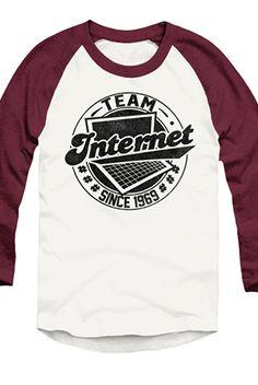 #TeamInternet Raglan (Truffle) - Tyler Oakley - Official Online Store on District LinesDistrict Lines