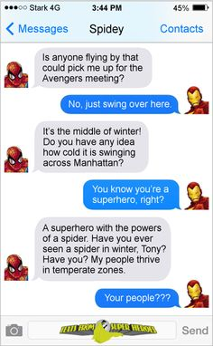 33 Hilariously Savage Tony Stark And Peter Parker Memes That Will Make You Laugh.- 33 Hilariously Savage Tony Stark And Peter Parker Memes That Will Make You Laugh Hard Funny Marvel Memes, Dc Memes, Marvel Jokes, Marvel Dc Comics, Logic Memes, Funny Memes, Avengers Texts, Superhero Texts, Marvel Avengers