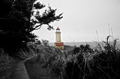 North Head lighthouse, Ilwaco, West Coast USA