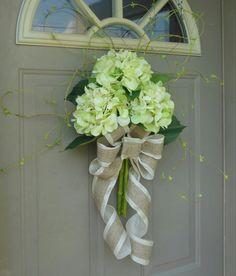 Spring Hydrangeas, Front Door Wreaths, Floral arrangements, Spring Wreaths, Peony Wreaths, wreaths, Door Wreaths, Brand New Day Designs on Etsy, $50.00