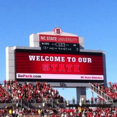 This is our State: Wolfpack Pride!