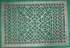 "Antique Floor Cold Air Return 26""x18"" Register Decorative Grille 1244 13 | eBay"