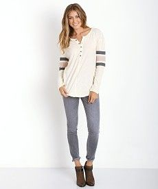 d19beff168c Free People Game Time Henley F879U023 - Free Shipping at Largo Drive Free  People