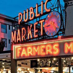 Pike Place Market - Seattle, Washington. Our good friends, Bruce & Barb moved to WA, not to far from here & we got to experience it. I loved the 'Live Fish'. Plan on spending Hours....