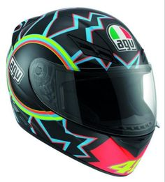 AGV K3 ROSSI 46 Motorcycle Helmets - Arai, AGV & Shoei Helmets