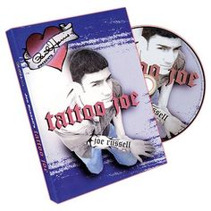 Paul Harris Presents Tattoo Joe by Joe Russell and Paul Harris - DVD magic trick / wholesale Close Up Magic, Different Tattoos, Magic Book, Big Guys, Magic Tricks, Classic Toys, The Magicians, Playing Cards, How Are You Feeling