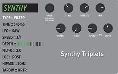 This Week's Preset - TimeLine - Synthy Triplets #strymonpreset