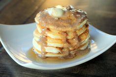 Perfect Pancakes and Syrup- Maria's Nutritious and Delicious Journal
