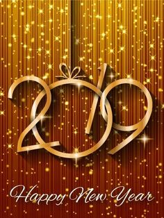 Shiny Gold Happy New Year Card Do you have a glamour-loving diva in your life? Send them this sparkling golden Happy New Year card to ring in The gorgeous golden background glitters and shines with stars, spots, and sparks of … Happy New Year Images, Happy New Year Quotes, Happy New Year Cards, Happy New Year Wishes, Happy New Year Greetings, Happy New Year 2018, Quotes About New Year, Birthday Greeting Cards, Birthday Greetings