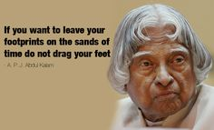 Inspiring Quotes by Dr APJ Abdul Kalam: Life and Lessons We Learn.