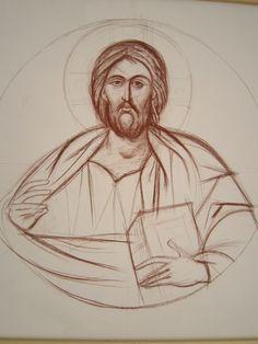 Christian Drawings, Orthodox Icons, Sketches, Byzantine Art, Concert Poster Art, Catholic Artwork, Art, Catholic Art, Art Hobbies