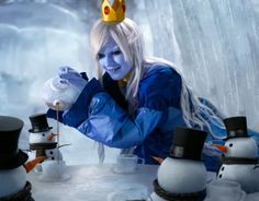 The Ice Queen by Kida Takashi // Adventure Time Cosplay