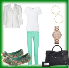 """Casual Work Look"" by annekesguidetostyle on Polyvore"