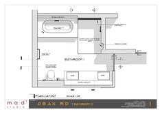 Plan section created by Skalp for SketchUp.  Project by mad+ studio