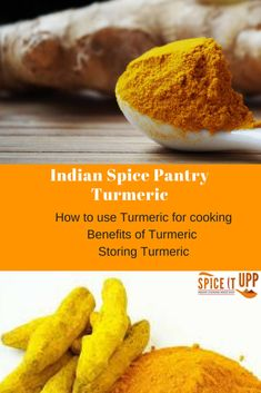 Read how to use Turmeric and the benefits of using Turmeric for cooking.   Turmeric recipes for cooking not only Indian food but other tasty recipes too. This yellow  spice has many health benefits and uses. Useful inofrmation on where to buy Turmeric and how to store spices. Golden Indian spice Turmeric Spice, Turmeric Recipes, Buy Turmeric, Indian Food Recipes, Vegetarian Recipes, Healthy Recipes, Cooking With Turmeric, Frozen Waffles, Evening Meals