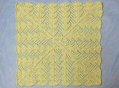 Fan Lace Baby Blanket  pattern by Heather Tucker