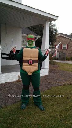 62 best ninja turtle costume ideas images on pinterest halloween cool raphael ninja turtle costume solutioingenieria Image collections