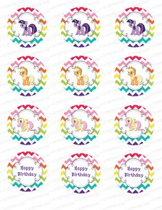 Un anniversaire My Little Pony #birthday #mlp