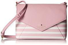 KATE SPADE NEW YORK Kate Spade New York Fairmount Square Large Monday Cross-Body Bag. #katespadenewyork #bags #lining #polyester #