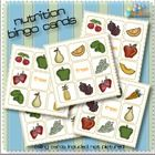 7 different Nutrition/Food Bingo Cards... this goes great with my Nutrition/Food theme!