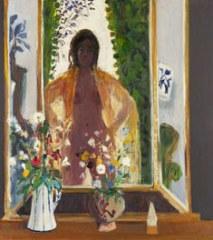 "lilithsplace: ""Girl in a Mirror, 1970 - David McClure (1926–1998) """