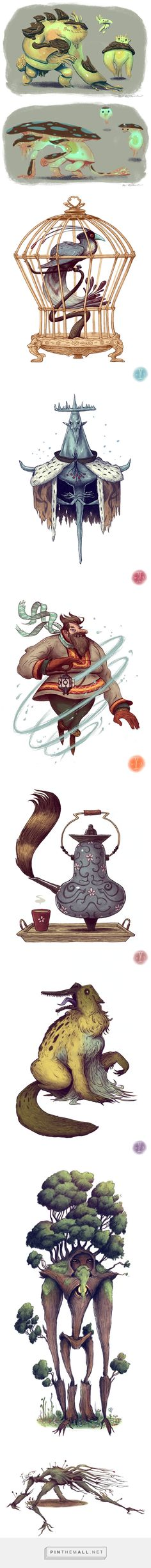 Character Design by Matt Rockefeller - created via http://pinthemall.net