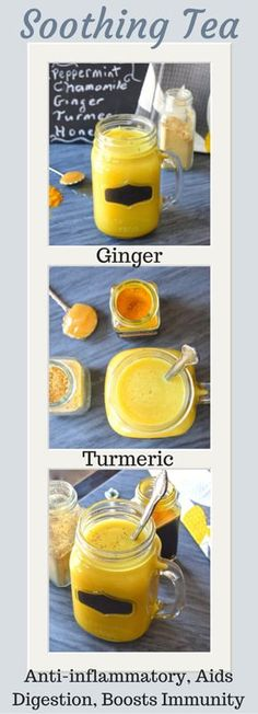 Soothing Tea is a deliciously sweet and spicy treat for the end of the day.  I lost 8 sizes and reversed Type 2 Diabetes through diet and lifestyle.  For more healthy ideas follow me on Pinterest and subscribe to my blog at this link. #gingertea