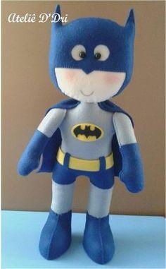 Moldes para Feltro: Batman
