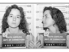 Susan Smith Reported to police she had been carjacked by a black man who drove away with her sons still in the car. Smith confessed later to letting her Mazda roll into nearby John D. Long Lake drowning her children inside. Deadly Females, Famous Murders, Susan Smith, Evil People, Criminology, Criminal Minds, Serial Killers, Mug Shots, True Crime