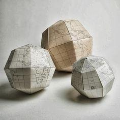 As formas geométricas são mesmo uma tendência na decoração, e este tutorial à semelhança deste anterior ensina como fazer um cestinho ...