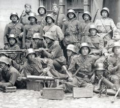 Polish soldiers from 1920