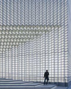 larameeee: uufie develops 3D glass façade for ports 1961's flagship shanghai store