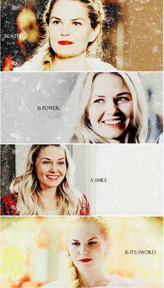 """""""Beauty is power; a smile is it's sword."""""""