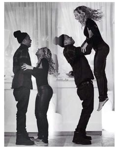 Beyonce and Jay-Z  - black and white photography - Music - Queen Bey & Jay