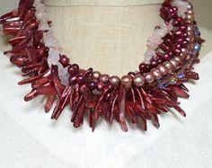 marsala necklace